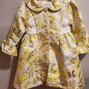 Toddler dress w/ matching coat